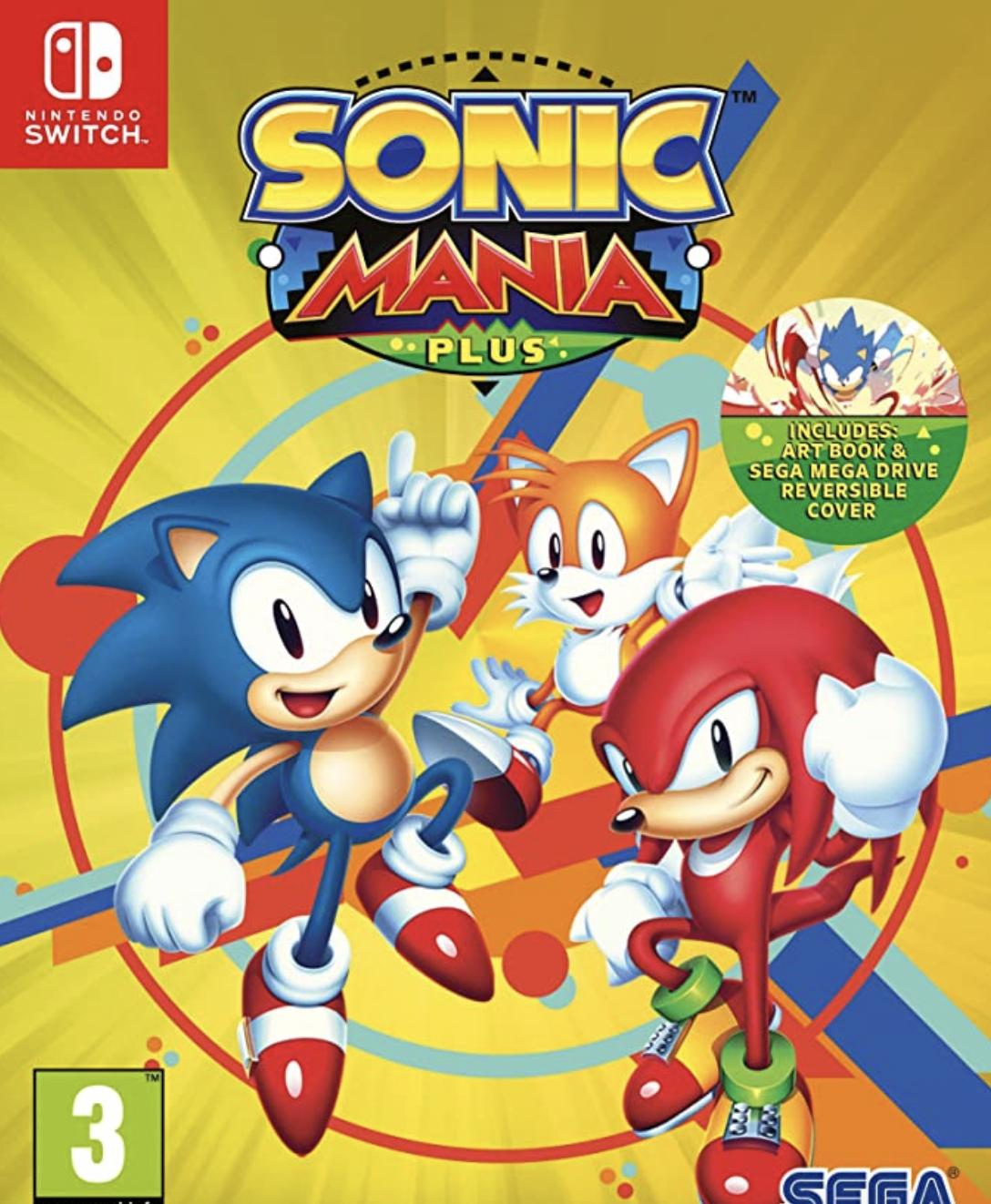 Sonic Mania Plus (Nintendo Switch) £17.30 Prime // 20.29 Non-Prime @ Amazon