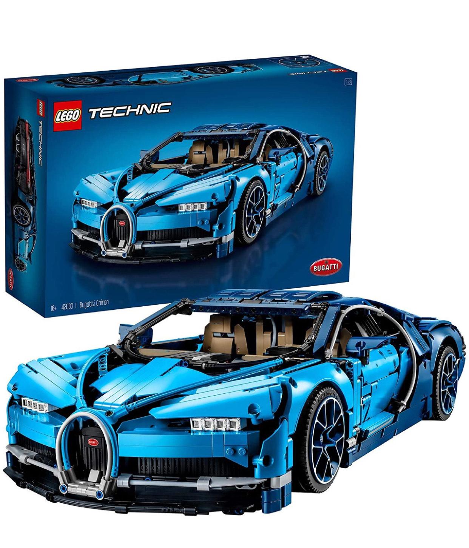 LEGO Technic 42083 Bugatti Chiron Sports Race Car Set £201.99 (discount at checkout) @ Smyths Toys