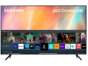 Samsung UE43AU7100 43 inch 4K Ultra HD HDR Smart LED TV £419 with code at Richer Sounds