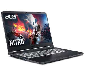 """ACER Nitro 5 17.3"""" Gaming Laptop - Intel® Core™ i7, RTX 3060, 256 GB SSD £949 @ Currys"""