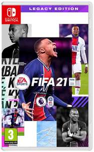 FIFA 21 Legacy Edition (Nintendo Switch) - £14.99 delivered @ Currys PC World