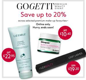 Save 20% on premium beauty, £10 worth points spend £60, save extra 15% on No7 beauty Skincare - click & collect £1.50 @ Boots