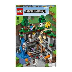 LEGO Minecraft 21169 The First Adventure Building Set £44.99 @ Smyths Toys (Applied at checkout)