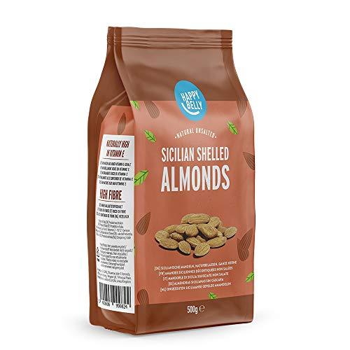 Amazon Brand - Happy Belly Sicilian Shelled Almonds 4x500g (2kg total) - £6.01 (+ £4.49 Non Prime) @ Amazon