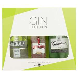 Blue Tree Gifts Gin Selection Gift Set, 3x5cl - £6.32 prime (+£4.49 nonPrime) at Amazon
