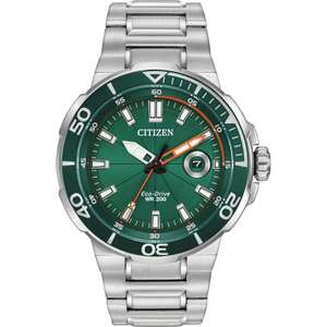 Citizen Men's Stainless Steel Endeavor Eco-Drive Watch AW1428-53X £215.28 (with code) @ Hillier Jewellers