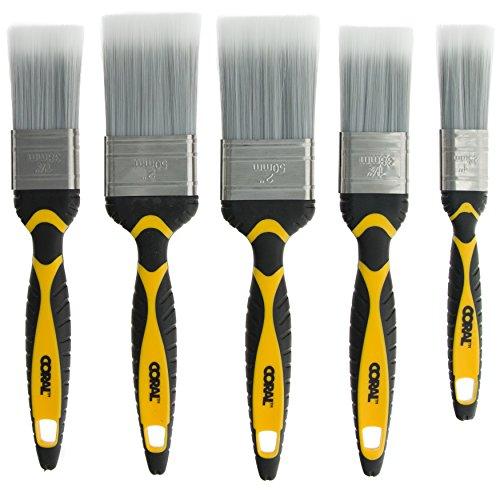 Coral 31505 Paint Brush Set, 1, 5 Pieces, Set of 5 - £5.27 (+£4.49 non Prime) @ Amazon