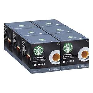 Dolce Gusto Starbucks Espresso Coffee Pods 6 boxes (72 pods) £11.89 (+£4.49 nonprime) / £10.70 subscribe & save at Amazon