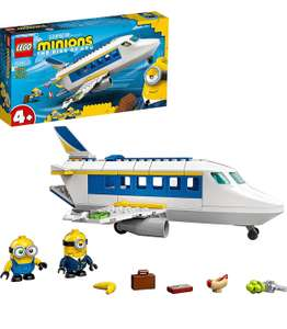 LEGO Minions 75547 Minion Pilot in Training Buildable Plane Toy with Bob and Stuart - £15.86 at Amazon