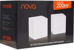 2 pack Tenda Nova MW3 AC1200 Whole home mesh WiFi system - £32 (+ £1.99 click & collect / + £3.99 delivery) @ TK Maxx
