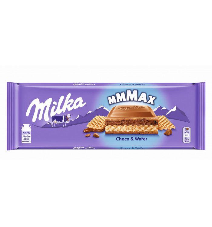 Milka Choco Wafer / Oreo 300g chocolate bar for £2 in store at Sainsbury's Wandsworth