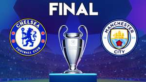 Free £5 Bet Builder on UCL Champions League Final Man City v Chelsea at Paddy Power