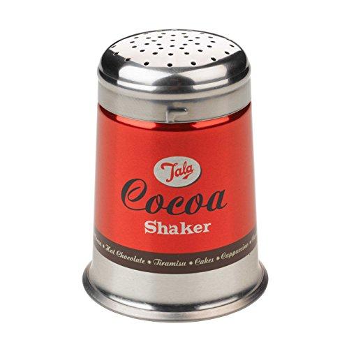 Retro Tala Cocoa / Sugar Shaker, Stainless Steel, Red £3.54 (+£4.49 Non Prime) @ Amazon