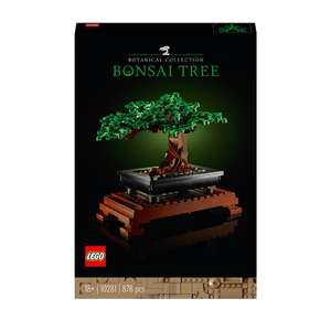 LEGO 10281 Creator Expert Bonsai Tree Set for Adults £39.99 (Free Click & Collect) @ Smyths