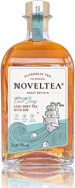NOVELTEA Alcoholic Earl Grey Tea with Gin 70cl 11% abv - £10.44 (+£4.49 nonPrime) Amazon