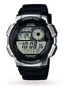 Casio Collection Men's Digital Watch AE-1000W - £19.99 (+£4.49 nonPrime) at Amazon