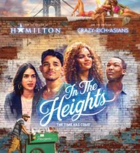 Two Free Cinema Tickets to see In The Heights Film (Selected Accounts) via Sky VIP App