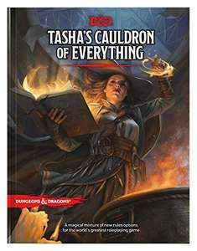 Dungeons & Dragon's Tasha's Cauldron - hardcover book £20.10 Amazon