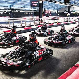 50 Lap Indoor Karting Race for Two £36.75 with code - valid for 20 months @ BuyAGift