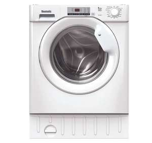 Baumatic BDI1485D4E/1 Integrated 8Kg / 5Kg Washer Dryer with 1400 rpm - White - A Rated £369 (UK Mainland) at ao
