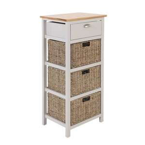 Atterley 4 Drawer Chest £49.93 @ Homebase Free click & collect (limited availability)