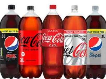 Pepsi Max/ Coke Zero/ Diet Coke/ Diet Pepsi (2.25-3L Each) - 3 for £5 @ Farmfoods