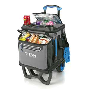 Titan 22.5 Litre Rolling Cooler with All Terrain Cart - £48.99 (Members Only) @ Costco