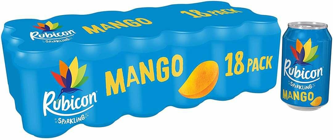 Rubicon Mango 18 Can Packs are 2 for £9 @ Farmfoods (Ashton U Lyne)