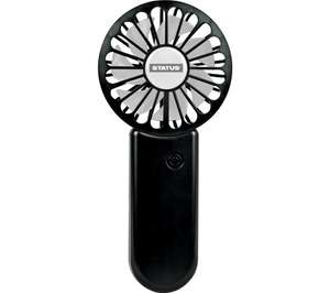 STATUS AirBlast MIXCRHHFANS Rechargeable Handheld Fan - £9.99 Delivered @ Currys PC World