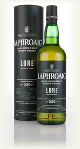 Laphroaig Lore Islay Single Malt Scotch Whisky £51.48 (£48.91 with Subscribe and save) at Amazon