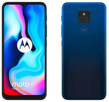 Motorola Moto E7 Plus - Smartphone 64GB, 4GB RAM, Dual Sim, Navy Blue Mobile Phone - £83.31 @ Amazon