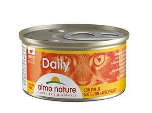 Almo Nature Daily Mousse with Chicken -Grain Free-(Pack of 24 x 85g Tins £5.90 (+£4.49 NP) delivered @ Amazon.
