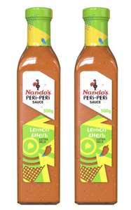 Nando's Lemon & Herb Extra Mild Peri-Peri Sauce 2 x 500ml - £3.99 (Membership Required) @ Costco