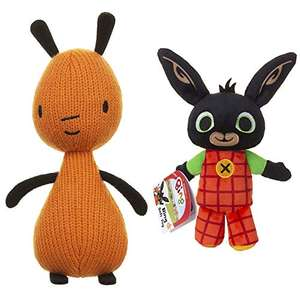 Bing & Friends Flop Soft Toy 20cm, Suitable from Birth & & Friends Soft Toy 20cm - £12.68 (Prime) + £4.49 (non Prime) at Amazon