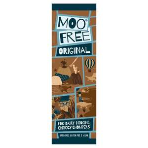 Moo Free Mini Bar Original or White or Bunnycomb 20g - 40p with Clubcard @ Tesco