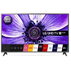 """LG 75UN70706LD.AEK 75"""" 4K UHD Television £719.10 with code (UK Mainland) @ Mark's Electrical"""