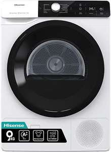 Hisense DHGA901NL, 9kg Heat Pump Tumble Dryer A++ Rated in White £319.99 (Members Only) @ Costco