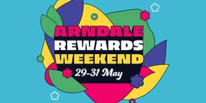 Spend £100+ and get a £10 gift card, spend £150+ and a £15 gift card, spend £200+ and get a £20 gift card 29th-31st May @ Manchester Arndale