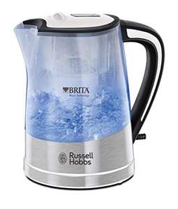 Russell Hobbs 22851 BRITA Filter Purity Kettle, 3000 W, Transparent + Cartridge Included - £11.66 (+£4.49 NP) Delivered @ Amazon