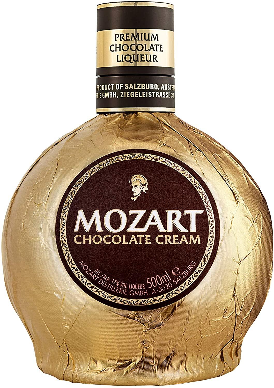 Mozart Chocolate Cream Liqueur 50cl £6.19 + £4.49 nonprime at Amazon