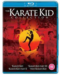 The Karate Kid 1-4 Collection Blu-ray £10.78 (+£2.99 nonPrime) at Amazon