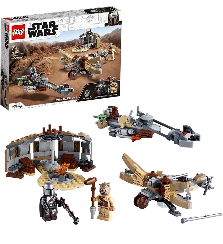LEGO Star Wars 75299 The Mandalorian Trouble on Tatooine Building Set £16.77 Prime / +£4.49 non Prime at Amazon