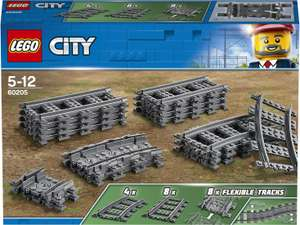 LEGO City 60205 Tracks 20 Pieces Set £11.47 @ John Lewis & Partners + £2 Click & Collect / £3.50 delivery