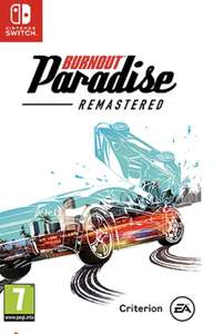 Burnout Paradise Remastered Switch Edition (Nintendo Switch), £12.99 Prime/Non-Prime + £2.99Delivery @ Amazon UK
