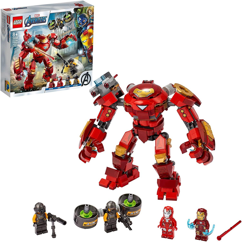 LEGO Marvel Avengers 76164 Iron Man Hulkbuster £19.18 (+£4.49 nonPrime) at Amazon