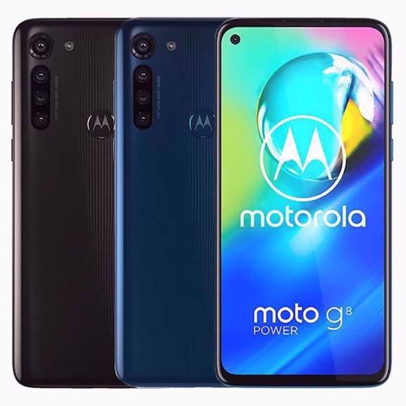 "Motorola G8 Power Android, 4GB RAM, 6.4"", 4G LTE, SIM Free Phone, 64GB (Black or Blue) - £109 delivered @ John Lewis & Partners"