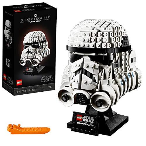 LEGO Star Wars 75276 Stormtrooper Helmet Display Building Set £34.59 At Amazon