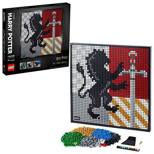 LEGO 31201 Art Harry Potter Hogwarts Crests £78.60 delivered @ Amazon