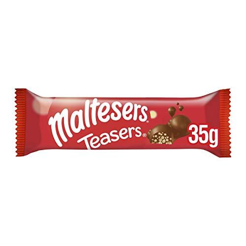Maltesers Teasers Chocolate Bar Bulk Box, for Gift Bag, 24 Bars of 35 g £4.01 (Prime) + £4.49 (non Prime) at Amazon
