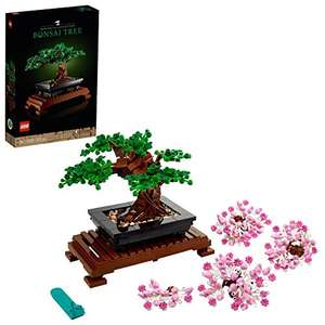 LEGO Creator 10281 Expert Bonsai Tree Set for Adults, Home Décor DIY Projects, Botanical Collection £30.18 delivered @ Amazon